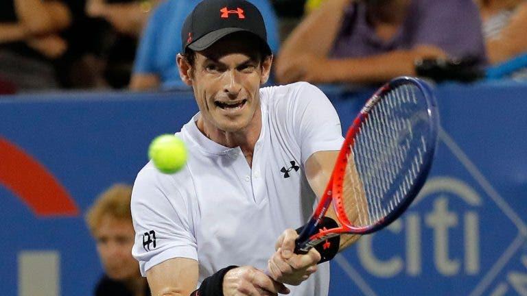 Murray muda de planos e joga apenas mais dois torneios (na China) em 2018