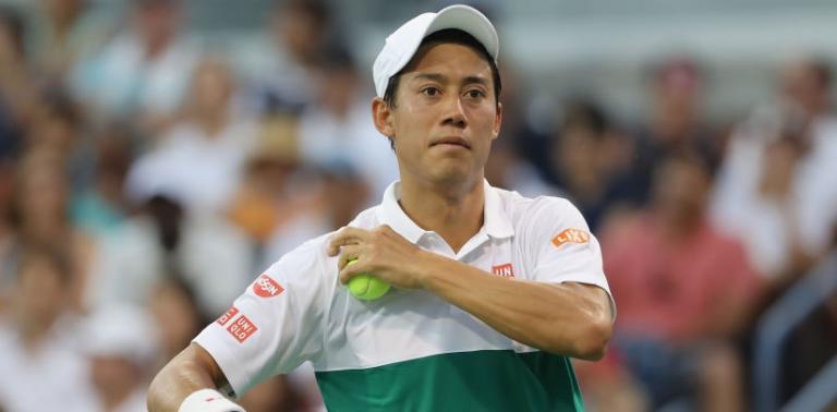 Nishikori desiste do ATP 500 de Halle na próxima semana