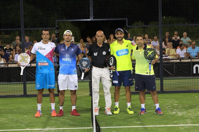 Miguel Oliveira e Vasco Pascoal derrotam número 1 do Mundo em Vale do Lobo
