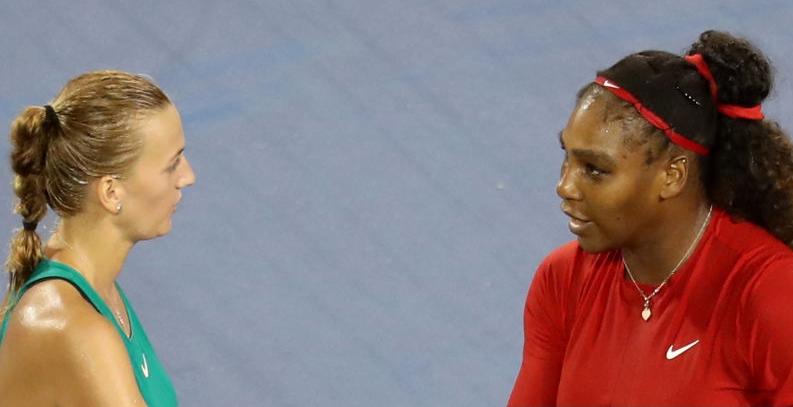 Jogão. Kvitova derrota Serena Williams pela segunda vez na carreira