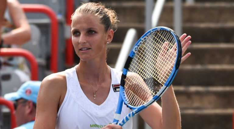 Pliskova bate Radwanska ao fim de seis (!) derrotas em dois sets e avança no Ohio