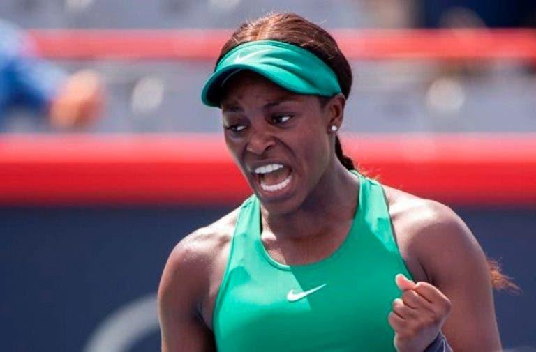 Stephens volta a vencer e confirma reedição da final de Roland Garros em Montreal