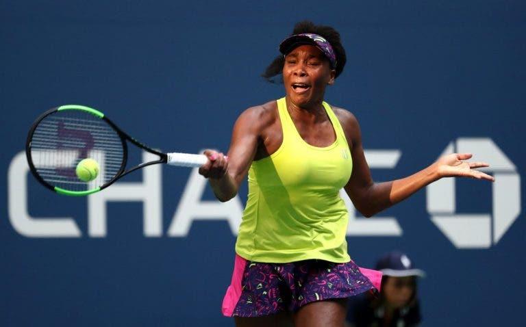 Venus: «Foi o melhor encontro que a Serena já jogou contra mim»