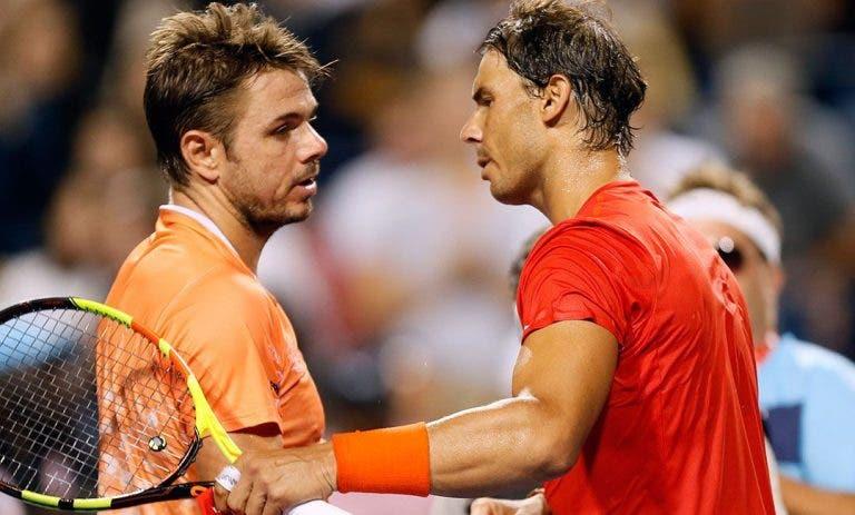 Wawrinka: «Feito de Nadal em Roland Garros é dos maiores da história de qualquer desporto»