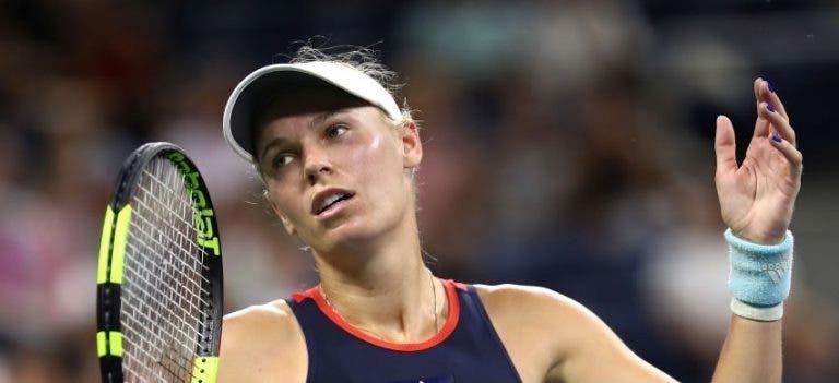Caroline Wozniacki forçada a desistir do Mutua Madrid Open