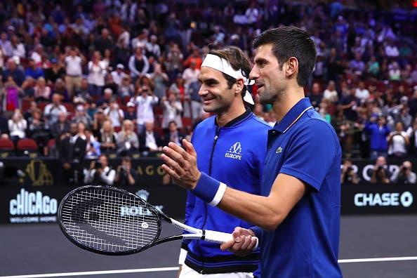 Djokovic: «Federer sabe exatamente do que preciso em cada momento»