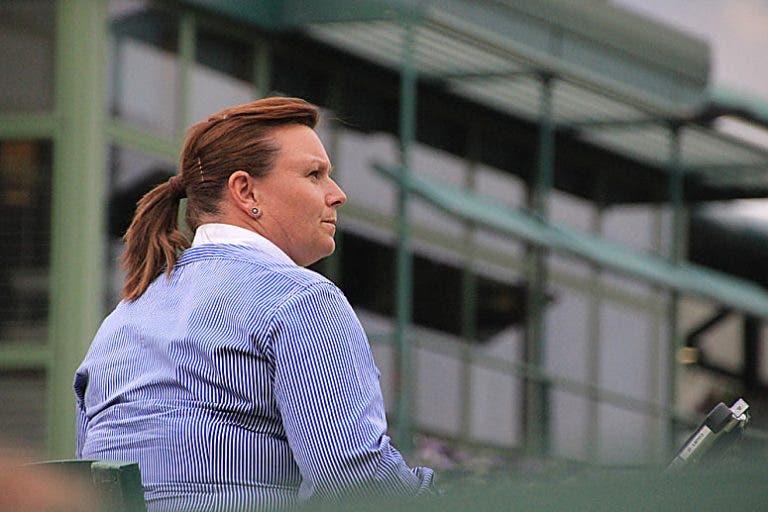 Alison Hughes é a segunda mulher da história a arbitrar uma final masculina em torneios do Grand Slam