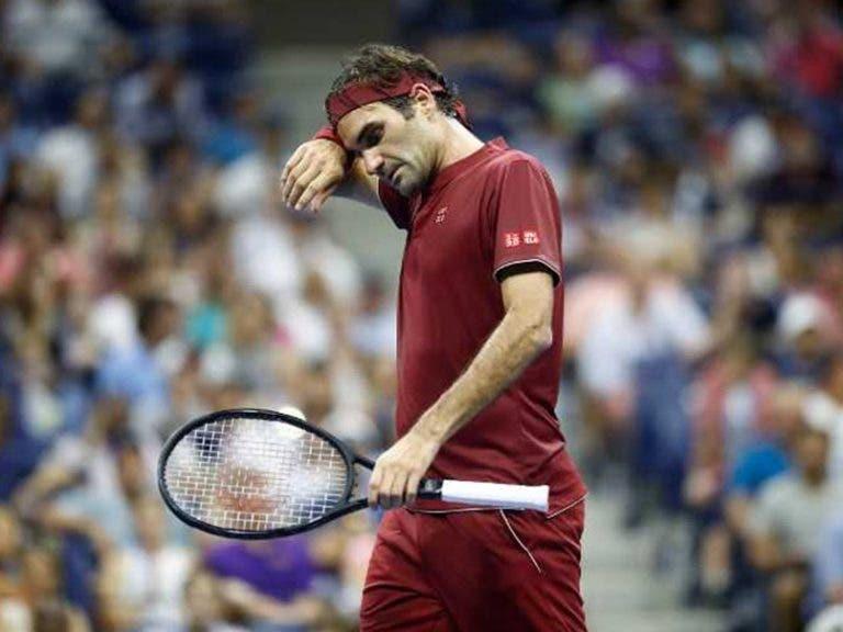 Federer: «Wimbledon e US Open foram as únicas desilusões que tive esta temporada»