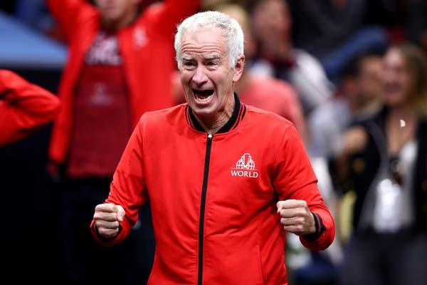 McEnroe quer acabar com carreira de Fedal: «Talvez decidam isso depois de lhes darmos uma chicotada no rabo»