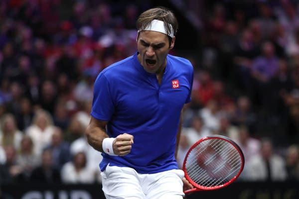 [VÍDEO] Federer salvou o terceiro match point… assim e o United Center foi à loucura