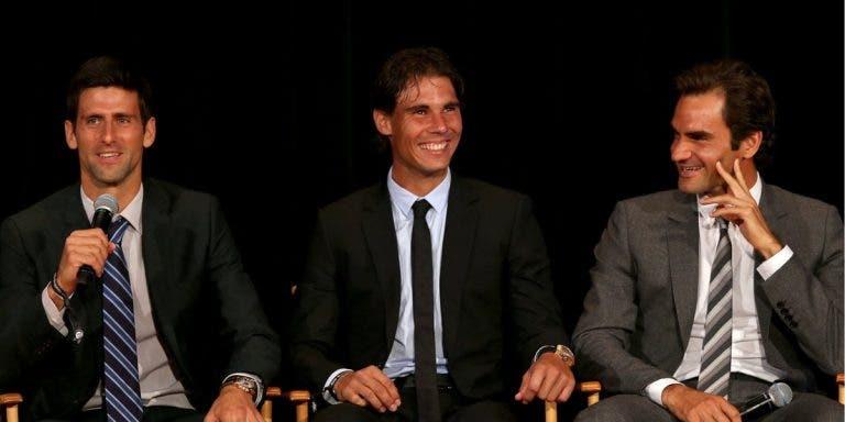 O que é que Federer gosta mais em Nadal e Djokovic? O suíço explica