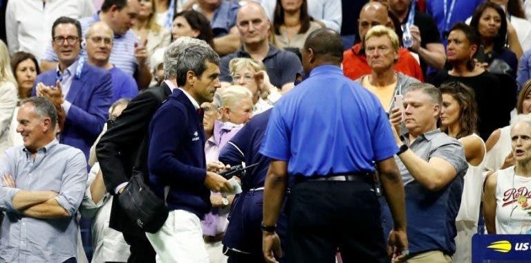 Confirmado: Carlos Ramos não vai arbitrar jogos de Serena Williams no US Open