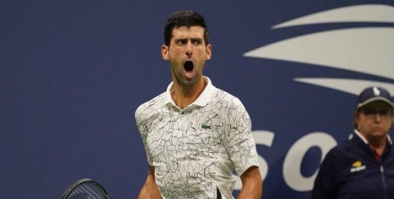 US Open teve quatro vezes mais warnings para homens do que para mulheres
