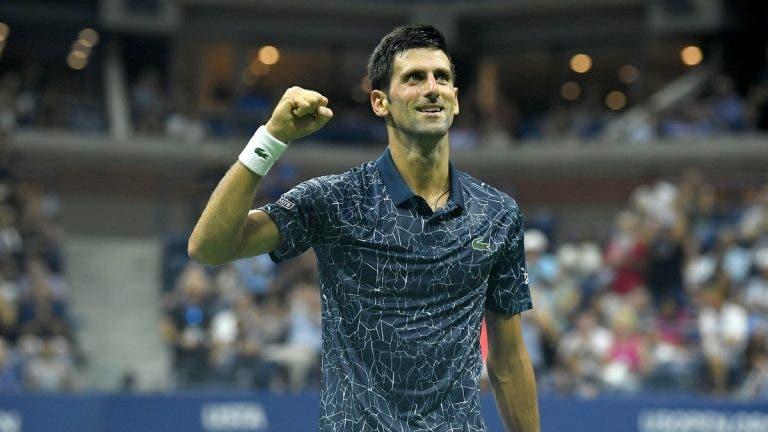 [VÍDEO] Djokovic conquistou o 14.º título do Grand Slam desta forma