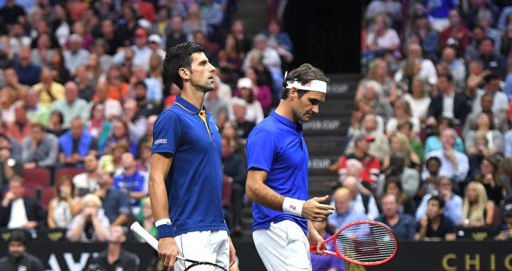 Mundo-Europa 1-3. Federer e Djokovic derrotados na sua estreia enquanto dupla