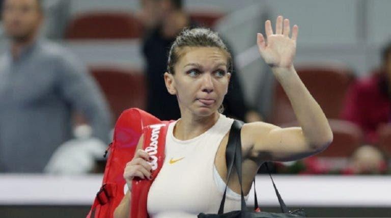 Simona Halep despede treinador ao fim de uma semana