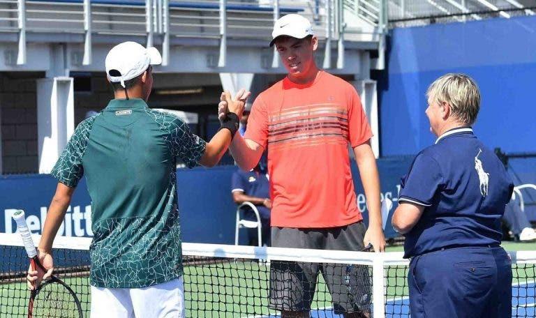 US Open 'obriga' jovens a cumprimentarem-se… antes dos encontros de juniores