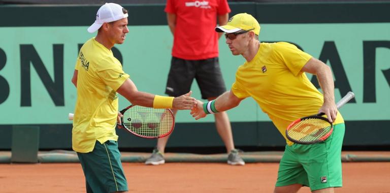 Três anos e meio depois, Hewitt volta a ganhar um encontro na Taça Davis