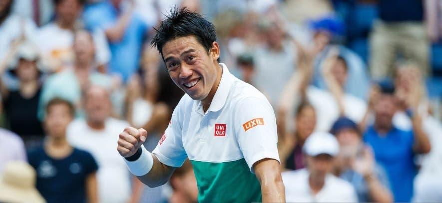 Kei Nishikori elimina o campeão em título em Metz