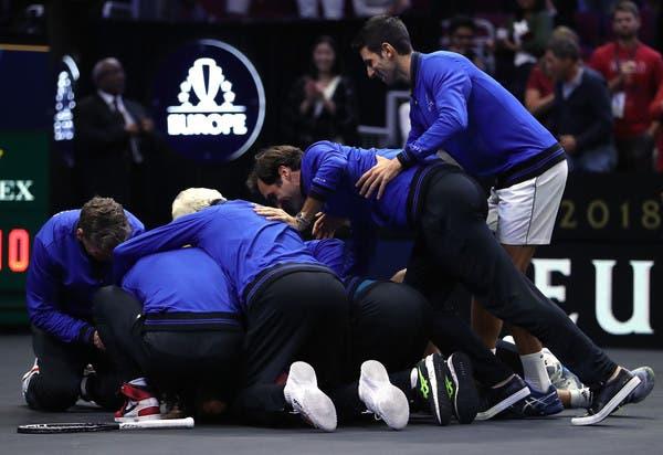 Federer: «Criei a Laver Cup para que todos passem um bom bocado e celebrem o ténis»