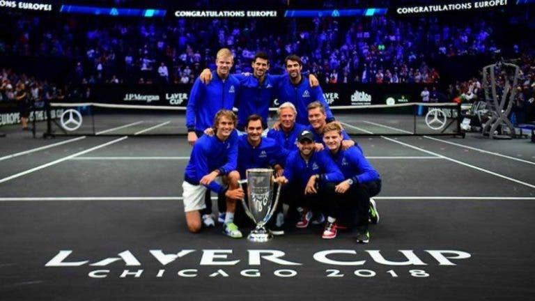 A segunda edição da Laver Cup foi um sucesso… e os números provam isso mesmo