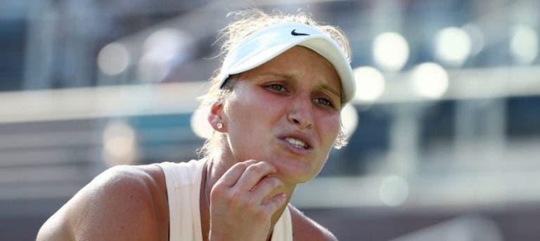 Vondrousova acusa adversária de fingir lesão nos 'oitavos' do US Open
