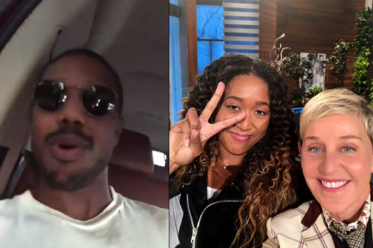 [VÍDEO] Osaka assumiu 'crush' a Ellen e a apresentadora não ficou parada