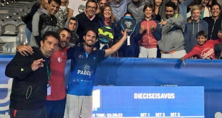 OITAVOS! Miguel Oliveira triunfa e avança no Portugal Padel Masters