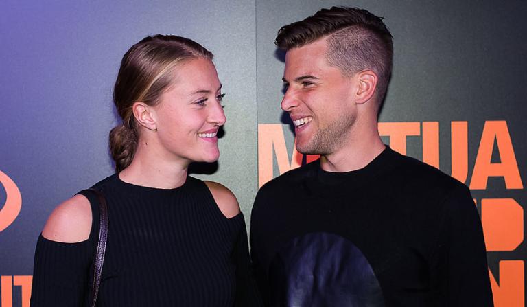 Thiem: «É especial ter a Mladenovic ao meu lado todo o ano»