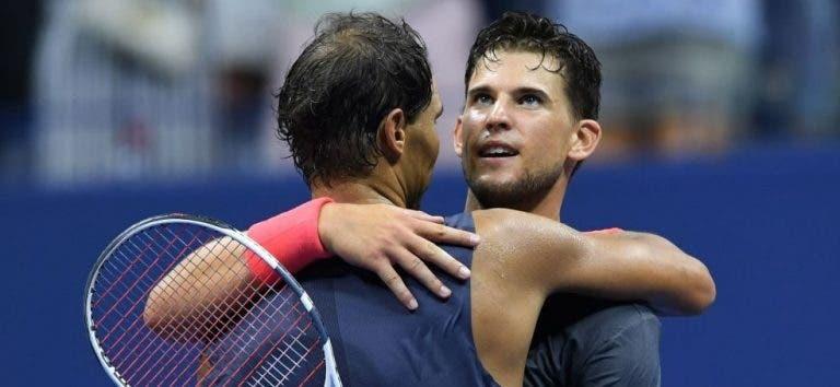 Thiem: «Derrota com o Nadal no US Open aumentou a minha confiança»