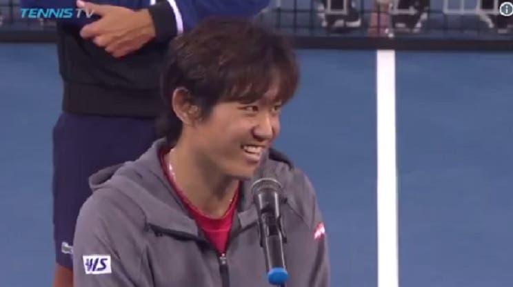Nishioka: «Estou surpreendido com o meu nível, poucos tenistas na história tiveram a minha lesão»