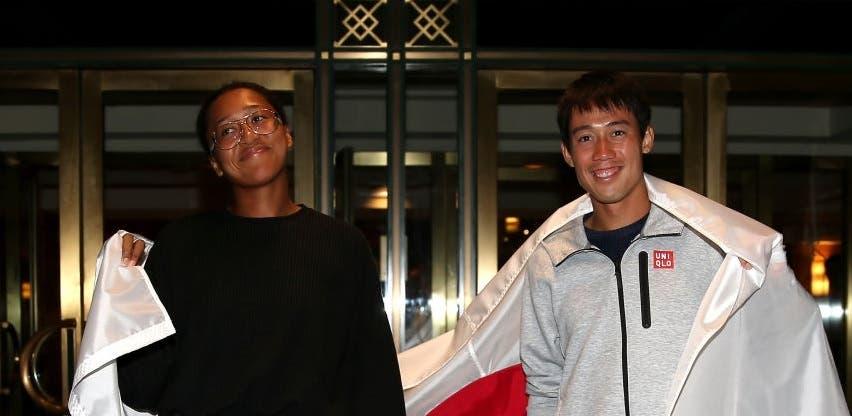 Osaka e Nishikori começam 2019 no mesmo torneio