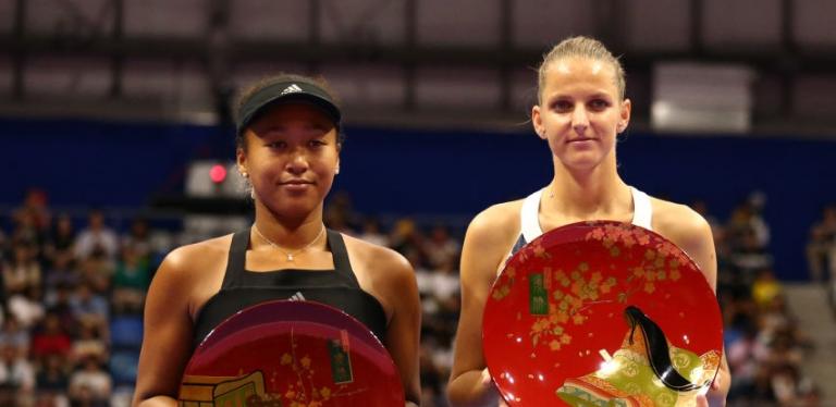 Pliskova quebra série de vitórias de Osaka e conquista WTA Premier de Tóquio