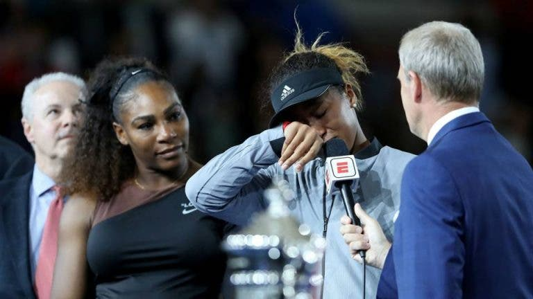 Osaka: «Espero que a Serena não tenha ficado zangada comigo»
