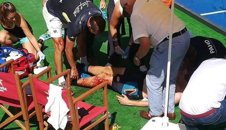 Paquito Navarro sofreu múltiplos cortes mas está estável no hospital