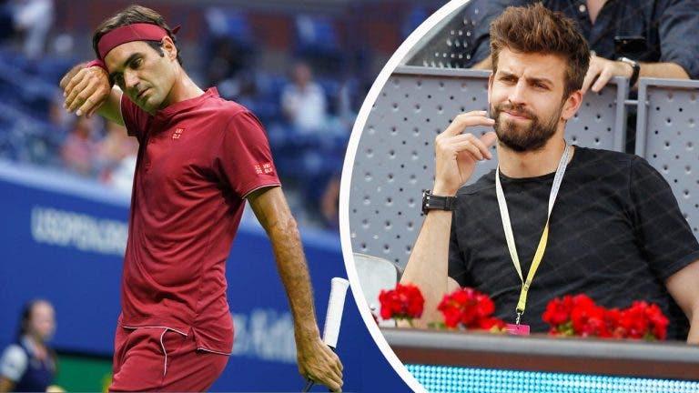 Gerard Piqué fez viagem relâmpago a Xangai para falar com Djokovic e Federer