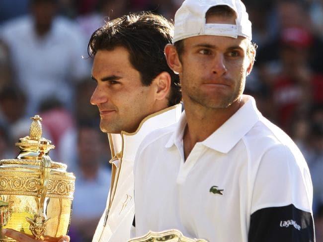 Roddick: «Sempre tive inveja da calma e habilidade do Federer para controlar a pressão antes dos encontros»