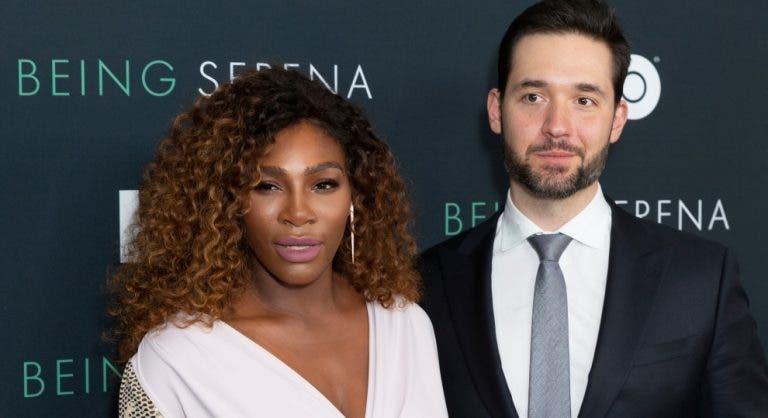 Marido de Serena Williams despede-se para dar o seu lugar a cidadão negro