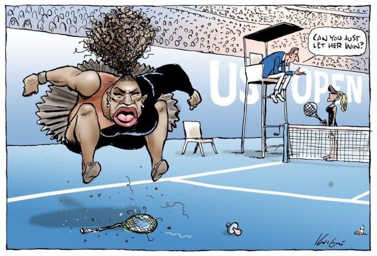 Cartoon sobre Serena gera polémica e é arrasado pela autora de Harry Potter