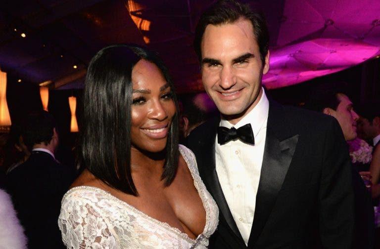 Nem Federer escapou ao marido de Serena Williams na hora de defender a esposa