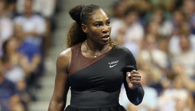 Serena Williams à frente do Big 3 na lista de Melhor Atleta da Década