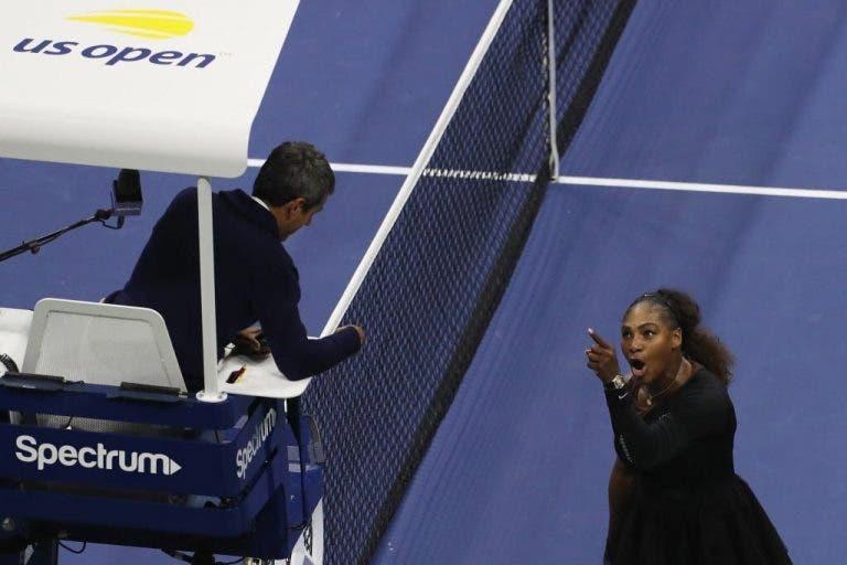 5 Para a Meia-Noite desvenda a real conversa entre Carlos Ramos e Serena Williams