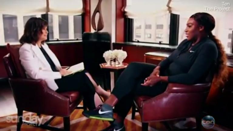 [VÍDEO] Serena quebra o silêncio em entrevista polémica na Austrália