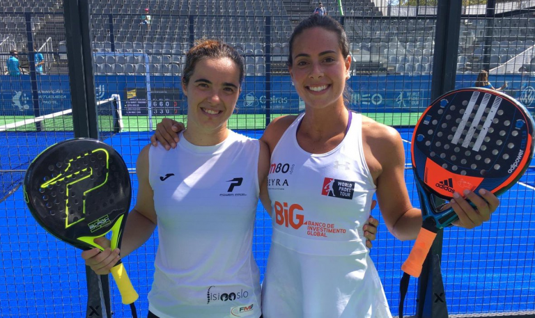 Sofia Araújo segue para os oitavos-de-final do Portugal Padel Masters