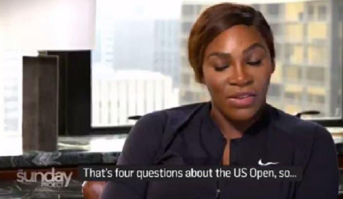 [VÍDEO] Assessora de imprensa de Serena interrompeu a primeira entrevista pós-US Open