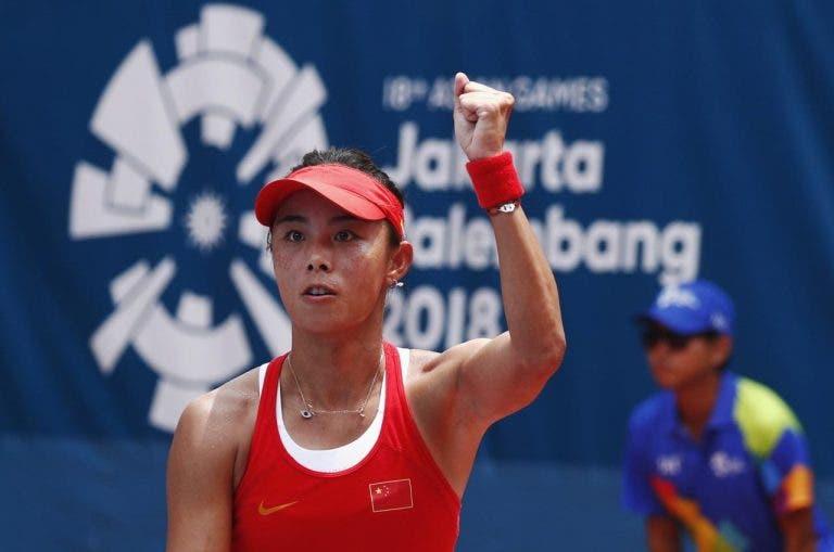 Mais uma desistência: Qiang Wang, 29.ª WTA, não joga US Open