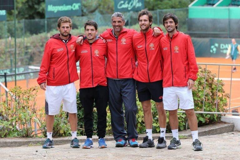 Taça Davis. Pedro Sousa defronta jovem estrela da África do Sul na abertura da eliminatória
