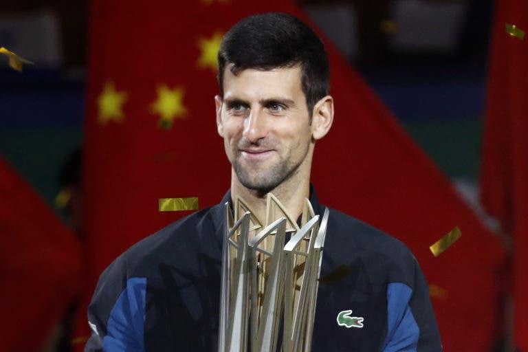 Djokovic após mais um título: «Tive que me reinventar e aqui têm o novo Novak»