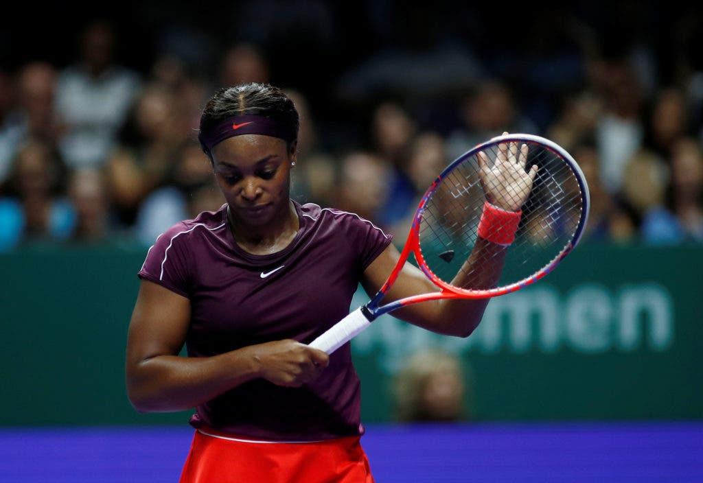 Stephens ultrapassa Osaka em encontro de alto nível e alcança primeira vitória nas WTA Finals