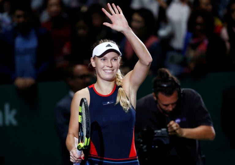 Wozniacki: «Ser a 1.ª tenista escandinava a ser número um e a vencer um Grand Slam é muito especial»